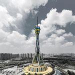 世界最高的全钢结构发射塔:中原福塔